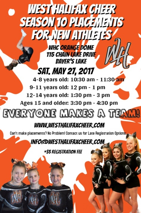 2017 try outs