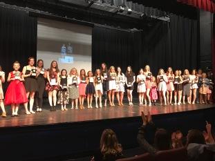 5-year banquet award recipients