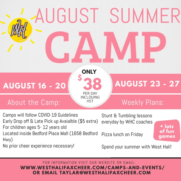 August Summer Camp - Made with PosterMyWall