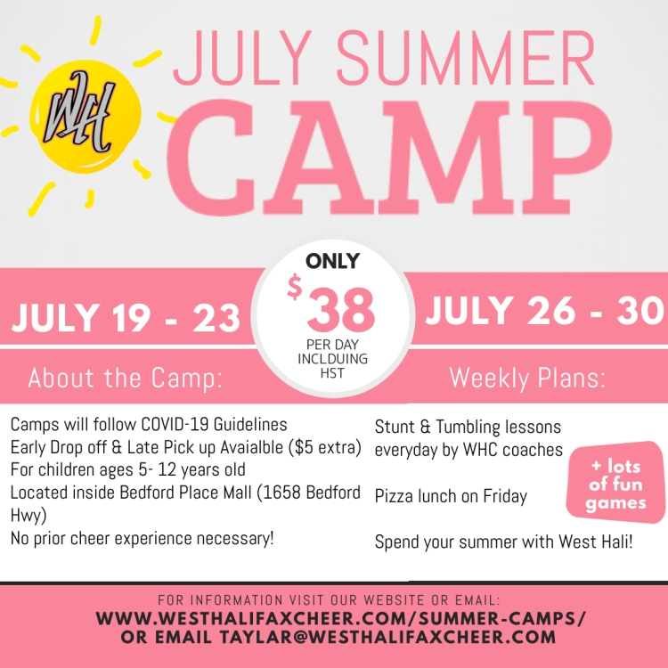 July Summer Camp - Made with PosterMyWall
